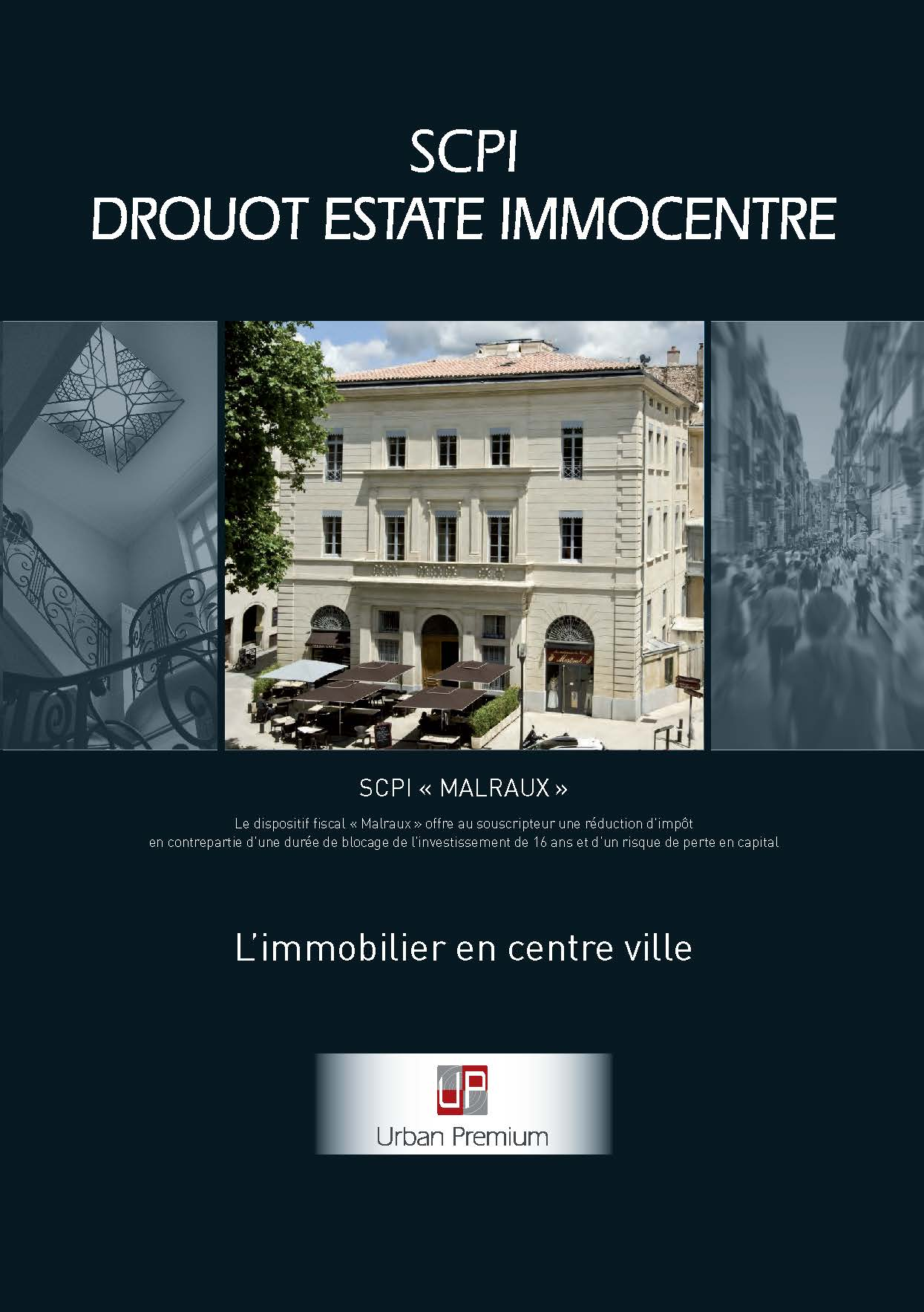 SCPI DROUOT ESTATE IMMOCENTRE (Malraux)