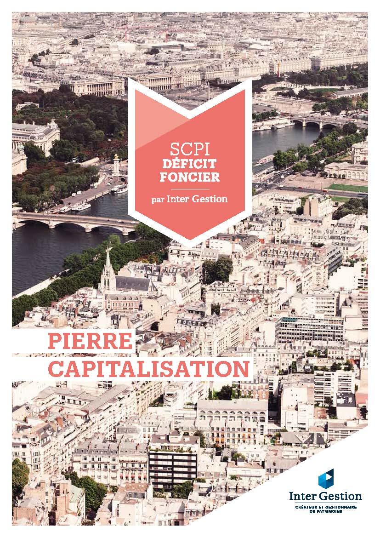 PIERRE CAPITALISATION (Deficit Foncier)